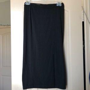 Fishnet Waist, Slit Skirt